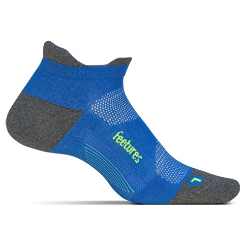 Feetures Elite ULC No Show Tab Unisex True Blue
