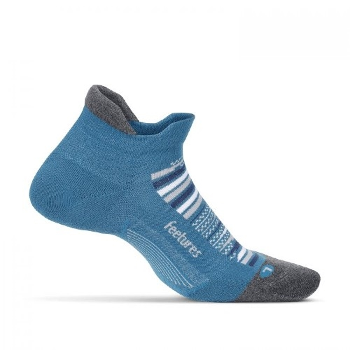 Feetures Elite ULC No Show Tab Unisex Maui Blue