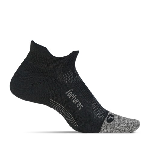 Feetures Elite ULC No Show Tab Unisex Black - Feetures Style # E55159 S20