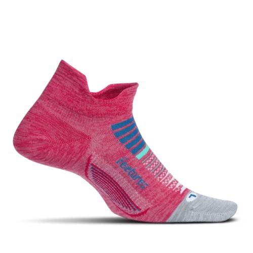 Feetures Elite ULC No Show Tab Women's Quasar Pink