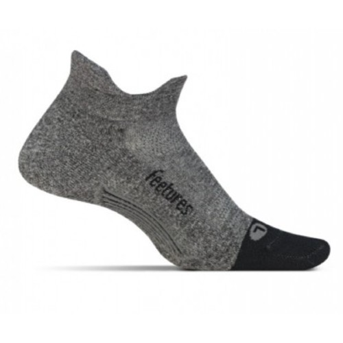 Feetures Elite ULC No Show Tab Unisex Grey