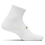 Feetures HP LC Quarter Unisex White