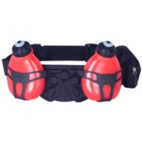 Fuel Belt Helium H2O 2 Bottle Unisex Black/Rush Red