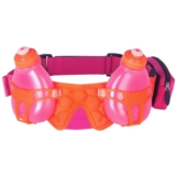 FuelBelt-Helium-H2O-2-Bottle Unisex PomegranatePink/Orange