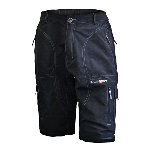Funkier Rapallo Pro Baggy Knee Men's Black