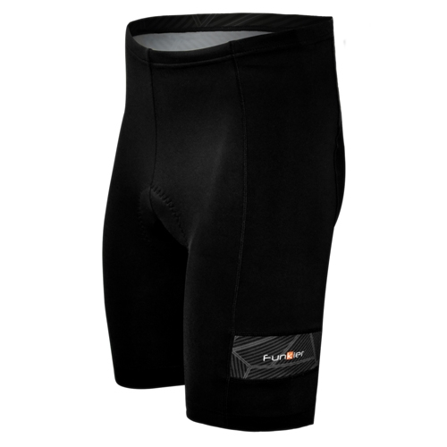 Funkier Roma Bike Short Men's Black