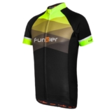 Funkier Spoleto Bike Jersey Men's Black/Neon