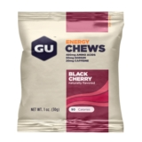 GU Energy Chews Case of 24 Black Cherry