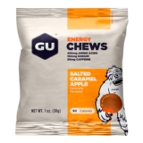 GU Energy Chews Case of 24 Salted Caramel Apple