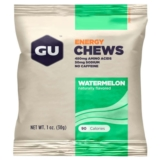 GU Energy Chews Case of 24 Watermelon