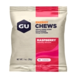 GU Energy Chews Single Raspberry