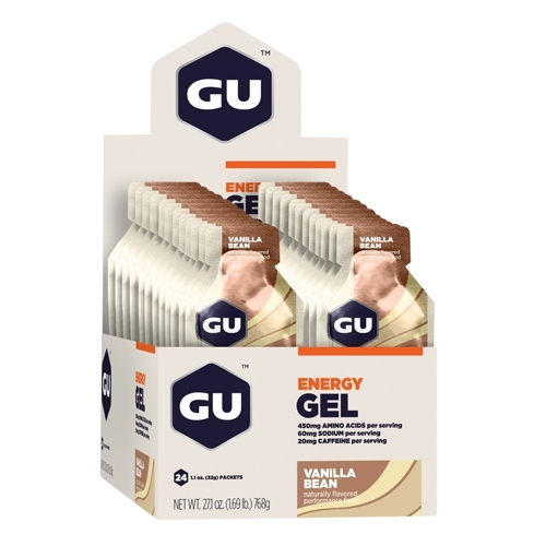 GU Gel Case of 24 Vanilla Bean