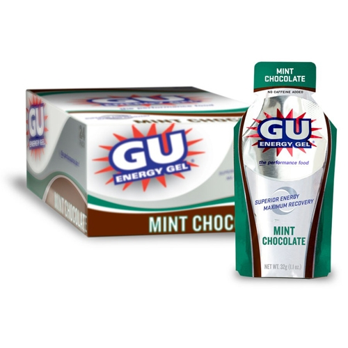 GU Gel Case of 24 Mint Chocolate