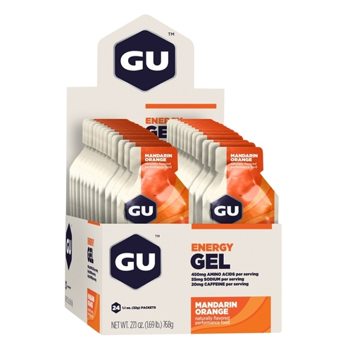 GU Gel Case of 24 Mandarin Orange
