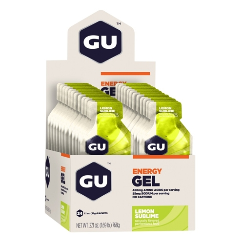 GU Gel Case of 24 Lemon Sublime