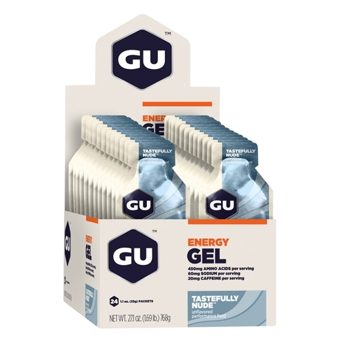 GU Gel Case of 24 Tastefully Nude/Just Plain