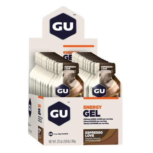 GU Gel Case of 24 Espresso Love