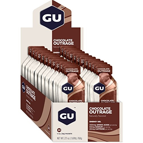 GU Gel Case of 24 Chocolate Outrage