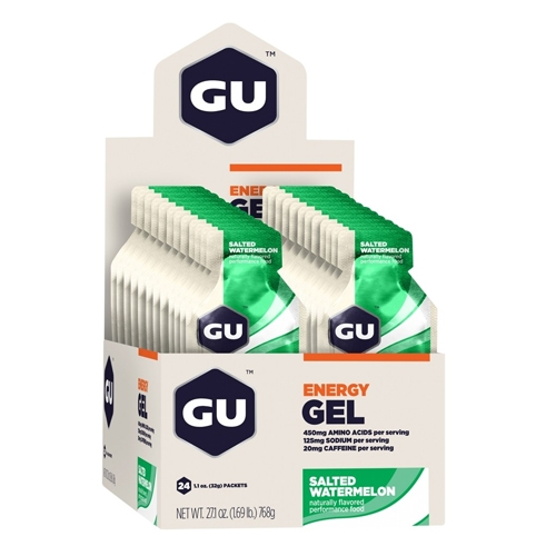 GU Gel Case of 24 Salted Watermelon
