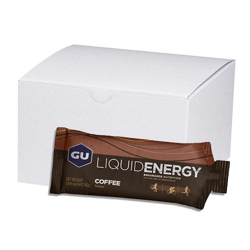 GU Liquid Energy Gel (Case 24) Coffee