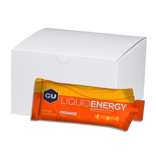 GU Liquid Energy Gel (Case 24) Orange
