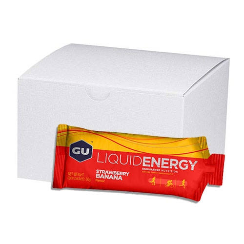 GU Liquid Energy Gel (Case 24) Strawberry/Banana