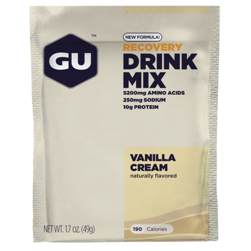 GU Recovery Brew Single Vanilla Cream