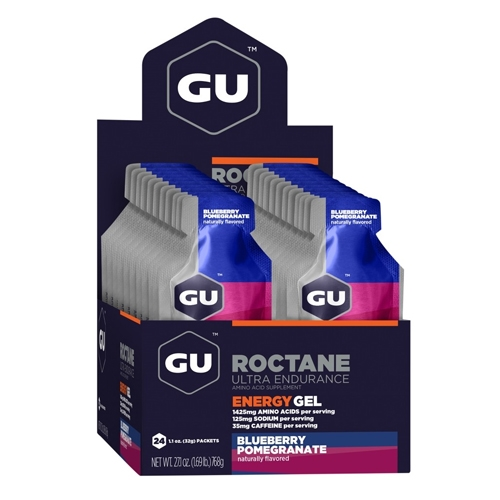 GU Roctane Case of 24 Blueberry Pomegranate