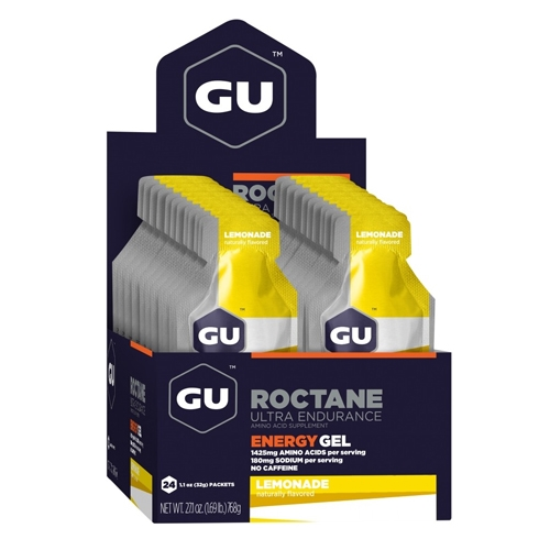 GU Roctane Case of 24 Lemonade