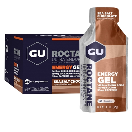 GU Roctane Case of 24 Sea Salt Chocolate