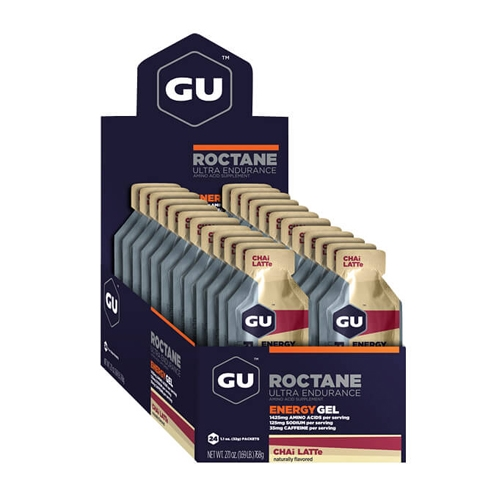 GU Roctane Case of 24 Chai Latte