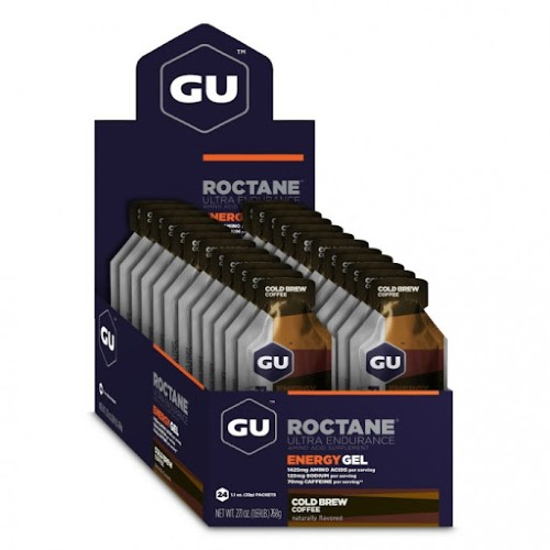 GU Roctane Case of 24 Cold Brew Coffee