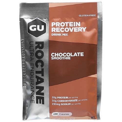 GU Roctane Protein Recovery Chocolate Smoothie Single