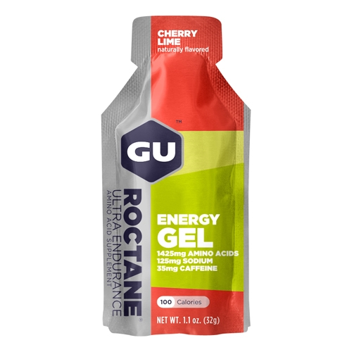 GU Roctane Single Cherry Lime