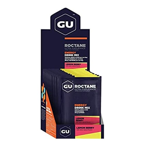 GU Roctane Ultra Energy Drink Lemon Berry Box(10 Packets)
