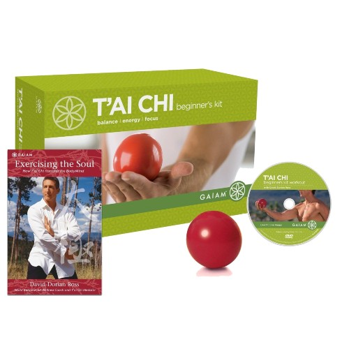 Gaiam Tai Chi Beginner's Kit DVD + Tai Chi Ball