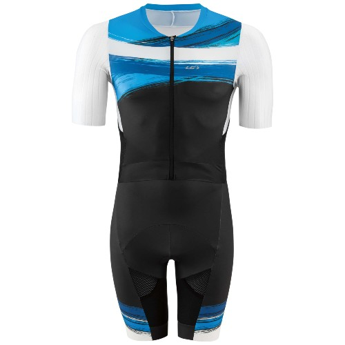 Garneau Aero Tri Suit Men's Wave Blue