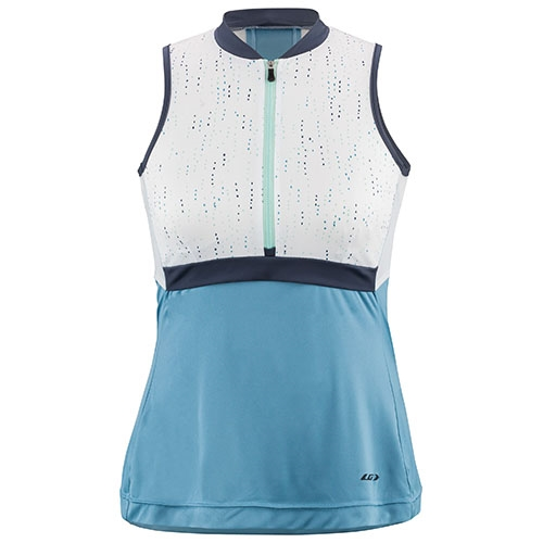 Garneau Art Factory Zircon S/L Women's Blue Print