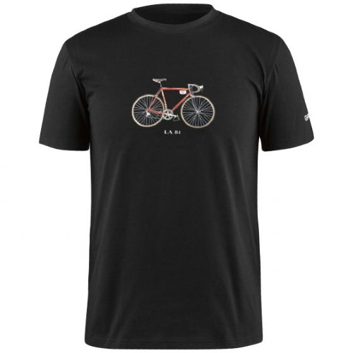 Garneau Mill Tee 2 Men's Black/L.A.1984