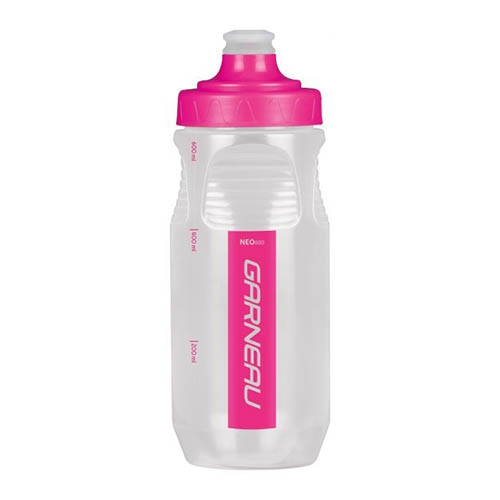 Garneau Neo 600ml Water Bottle Pink Glow