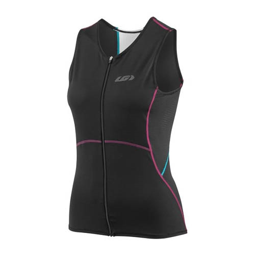 Garneau Tri Comp Sleeveless Women's Black/Puprle/Green