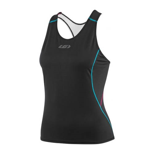 Garneau Tri Comp Tank Women's Black/Purple/Green