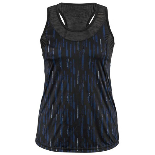 Garneau Venice Top Women's Black Print