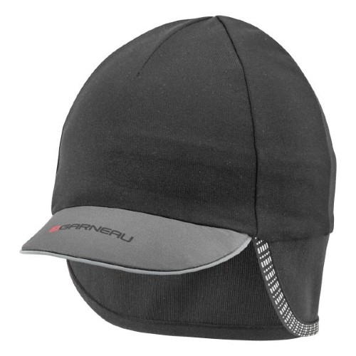 Garneau Winter Cap Unisex Black/Grey