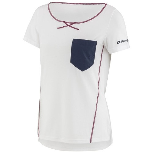 Garneau-SS-Shirt Women's White/Navy