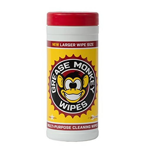 Grease Monkey Wipes 25 Count Canister