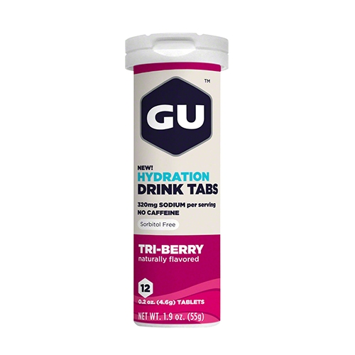 Gu Hydration Drink Tabs Single Tri-Berry