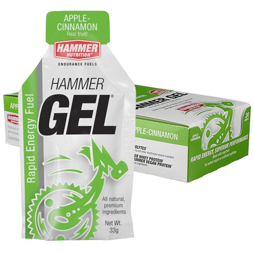 Hammer Gel Box of 24 Apple Cinnamon - Hammer Style # HBA24 S20