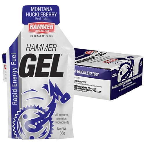 Hammer Gel Box of 24 Montana Huckleberry
