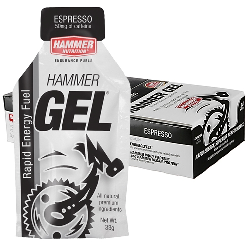 Hammer Gel Box of 24 Espresso